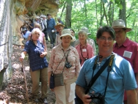 prehistoric-society-members-at-piney-creek-ravine